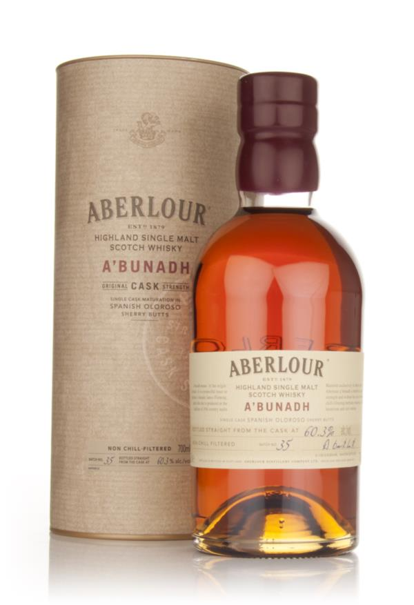 Aberlour aBunadh Batch 35 Single Malt Whisky