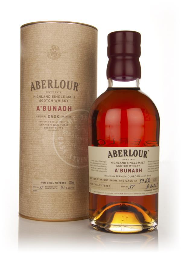 Aberlour aBunadh Batch 37 Single Malt Whisky