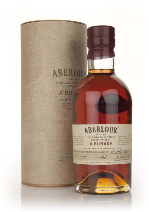 Aberlour aBunadh Batch 40 Whisky