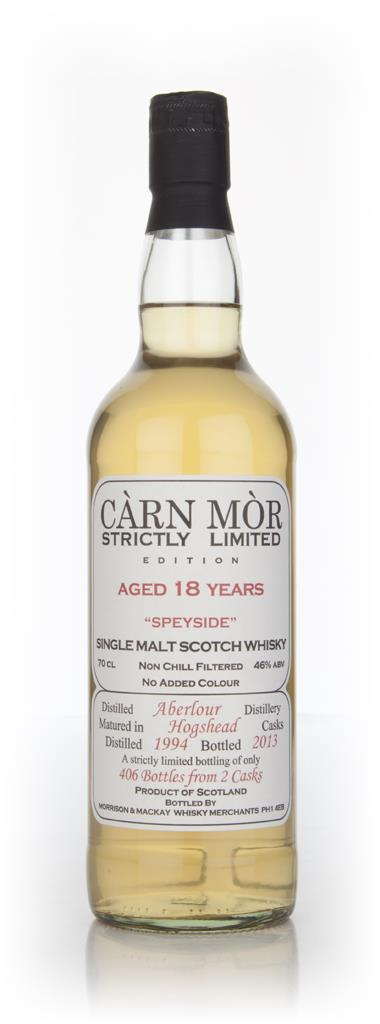 Aberlour 18 Year Old 1994 - Strictly Limited (Carn Mor) Single Malt Whisky