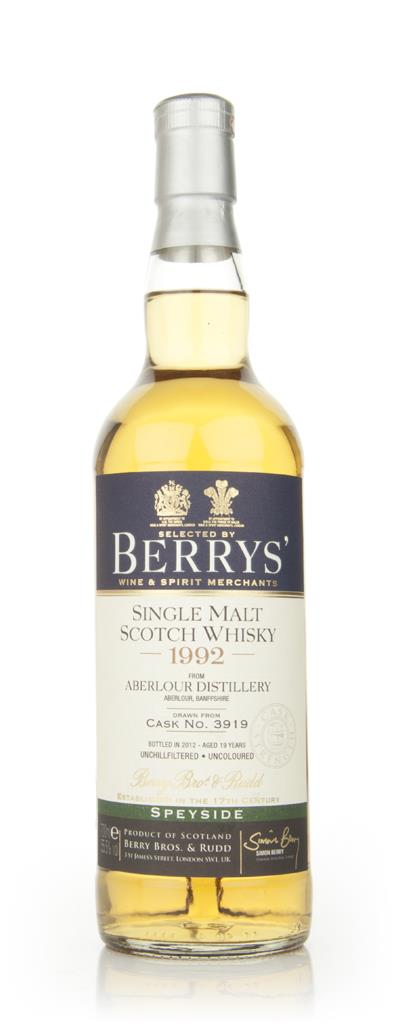 Aberlour 19 Year Old 1992 (Berry Brothers and Rudd) Single Malt Whisky