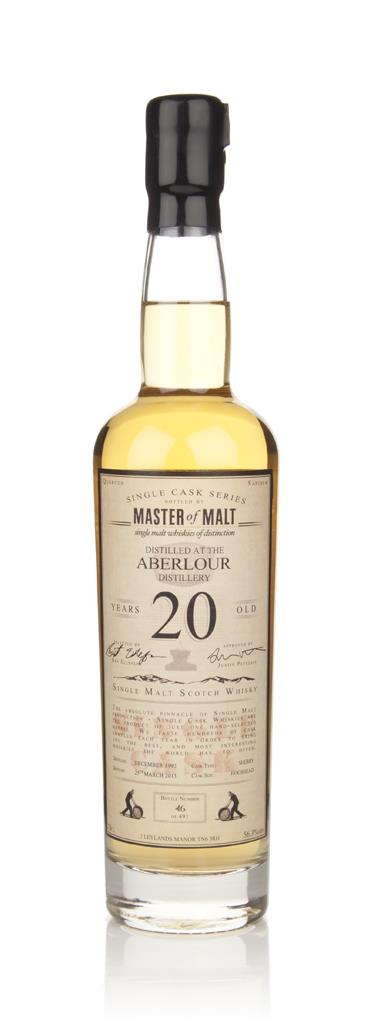Aberlour 20 Year Old - Single Cask (Master of Malt) Single Malt Whisky