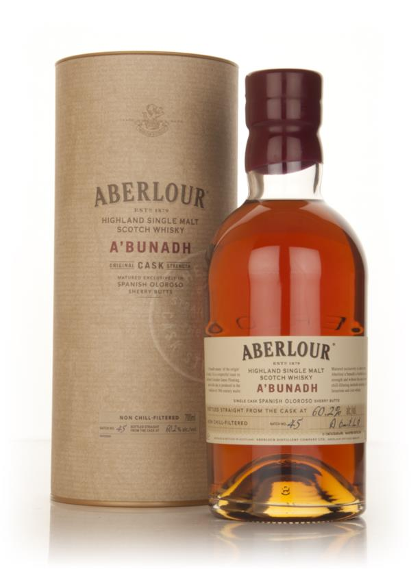 Aberlour aBunadh Batch 45 Single Malt Whisky
