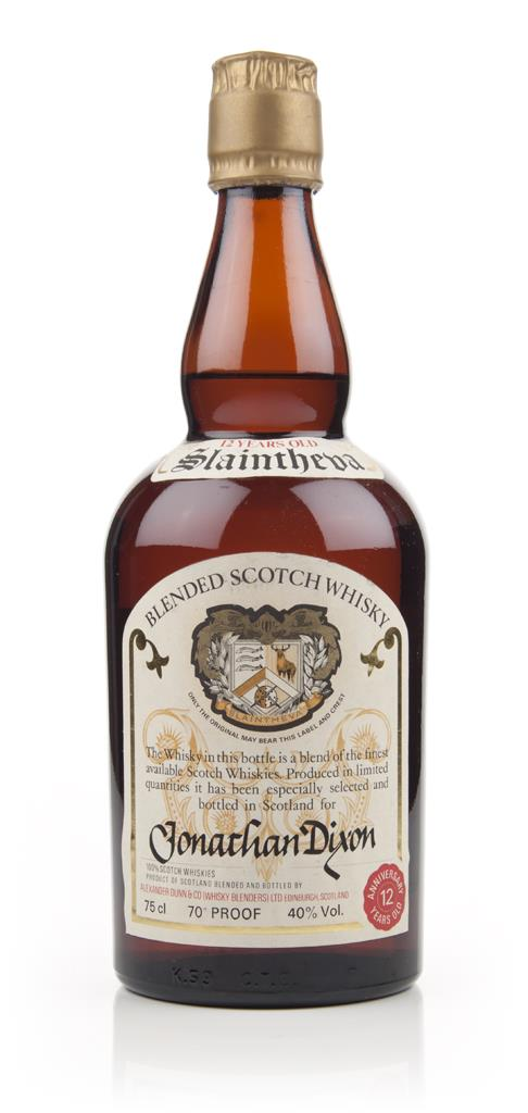 Alexander Dunn Slaintheva Blended Scotch Whisky - Jonathan Dixon - 197 Blended Whisky