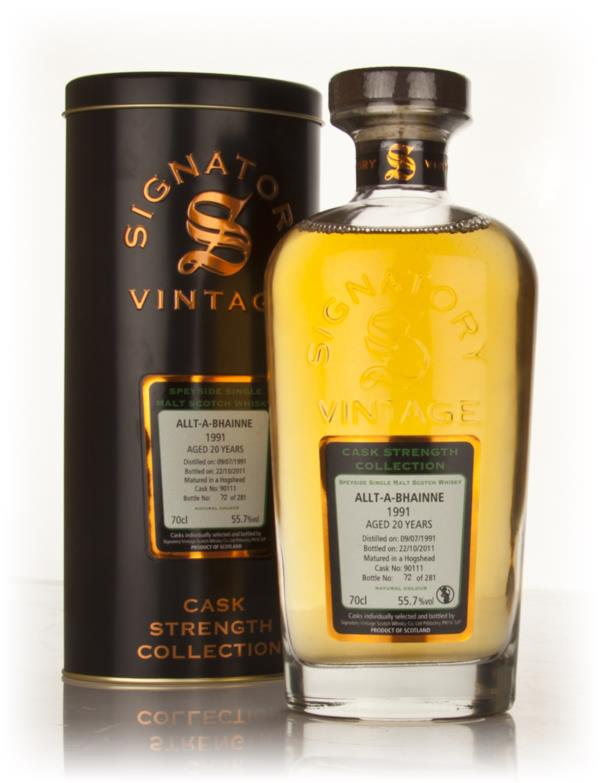 Allt-a-Bhainne 20 Year Old 1991 - Cask Strength Collection (Signatory) Single Malt Whisky