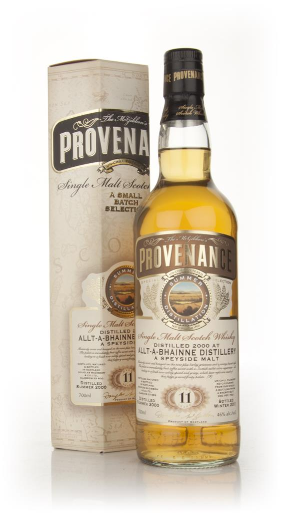 Allt-a-Bhainne 11 Year Old 2000 - Provenance (Douglas Laing) Single Malt Whisky