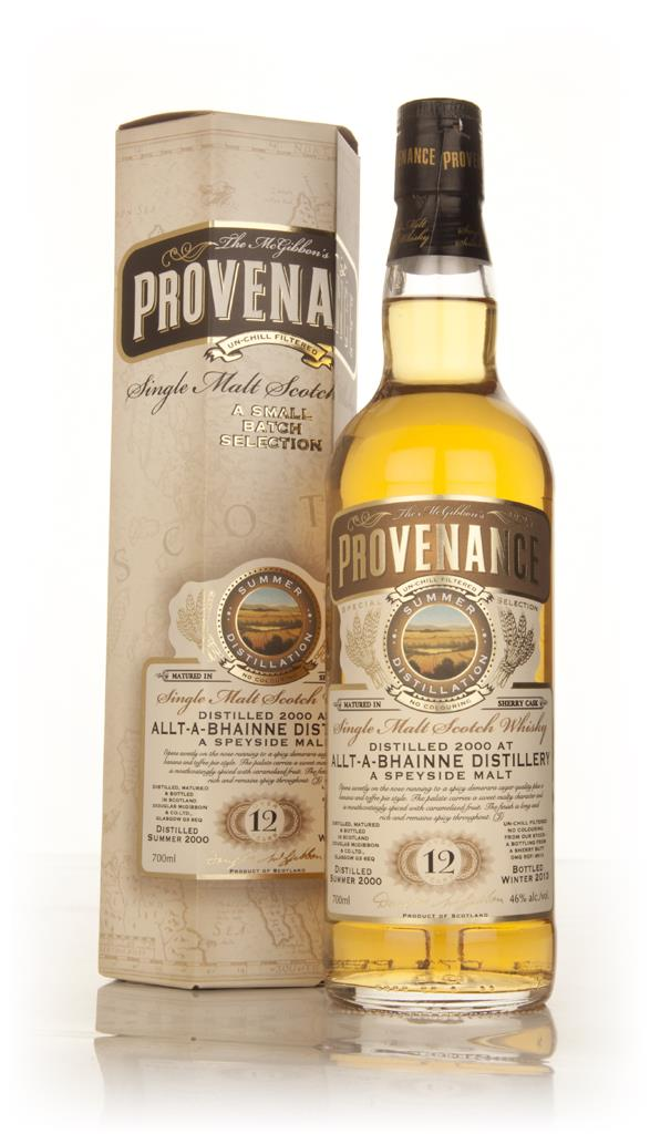 Allt-a-Bhainne 12 Year Old 2000 (cask 9513) - Provenance (Douglas Lain Single Malt Whisky
