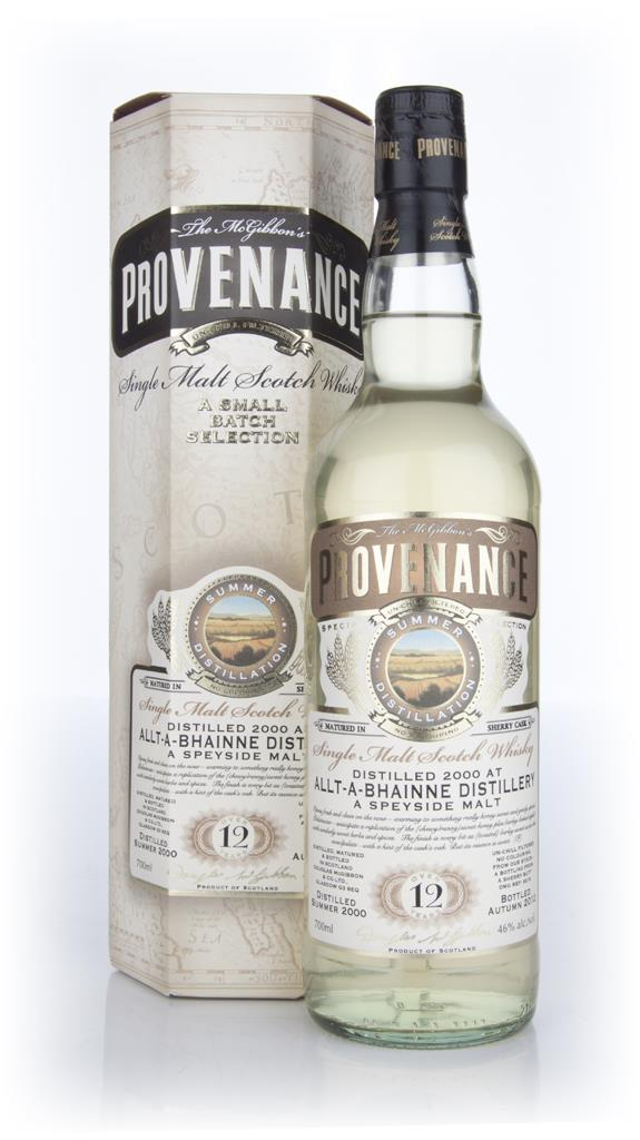 Allt-a-Bhainne 12 Year Old 2000 - Provenance (Douglas Laing) Single Malt Whisky