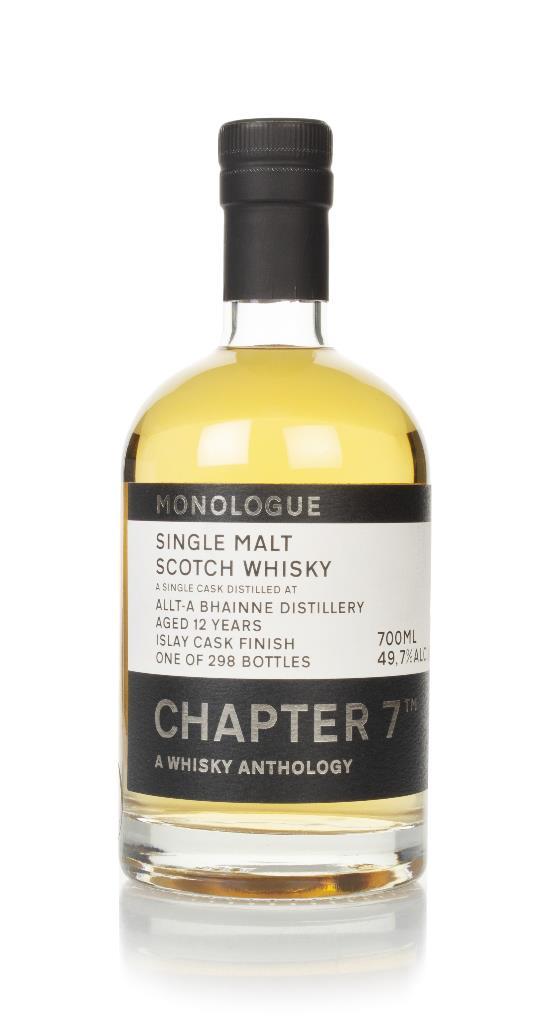 Allt-a-Bhainne 12 Year Old 2008 (cask 169) - Monologue (Chapter 7) Single Malt Whisky