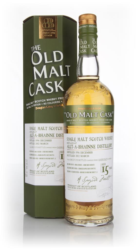 Allt-a-Bhainne 15 Year Old 1996 Cask 8216 - Old Malt Cask (Douglas Lai Single Malt Whisky