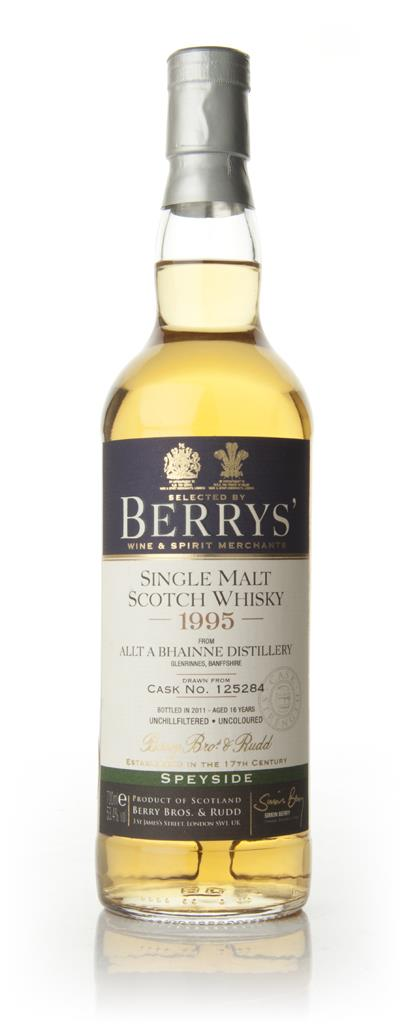 Allt a Bhainne 16 Year Old 1995 - Berry Brothers and Rudd Single Malt Whisky