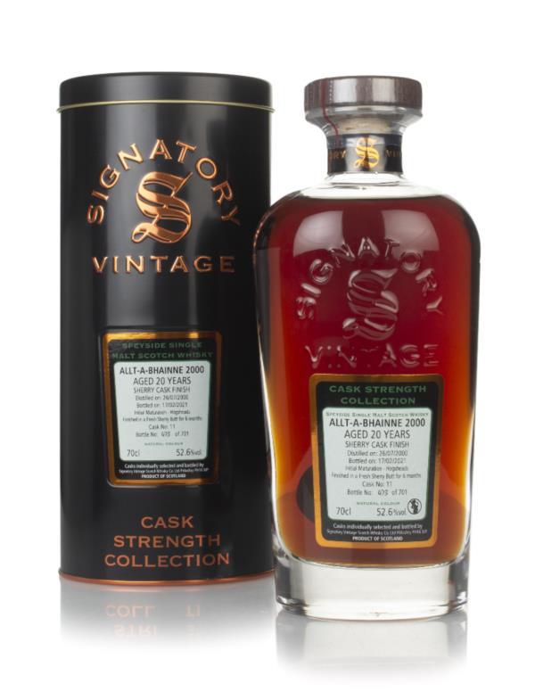 Allt-a-Bhainne 20 Year Old 2000 (cask 11) - Cask Strength Collection ( Single Malt Whisky