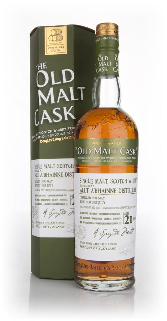 Allt-a-Bhainne 21 Year Old 1991 Cask 8820 - Old Malt Cask (Douglas Lai Single Malt Whisky