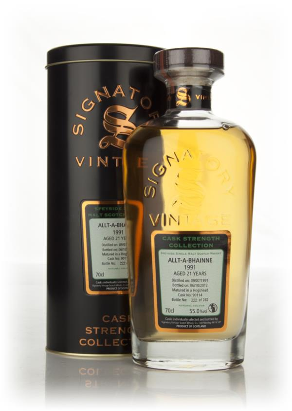 Allt-a-Bhainne 21 Year Old 1991 Cask 90114 - Cask Strength Collection Single Malt Whisky