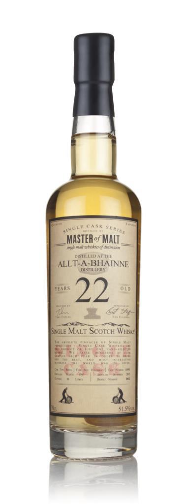 Allt-a-Bhainne 22 Year Old 1993 - Single Cask (Master of Malt) 3cl Sam Single Malt Whisky 3cl Sample