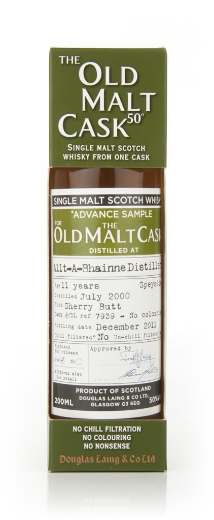 Allt a Bhainne 11 Year Old 2000 - Old Malt Cask (Douglas Laing) Single Malt Whisky