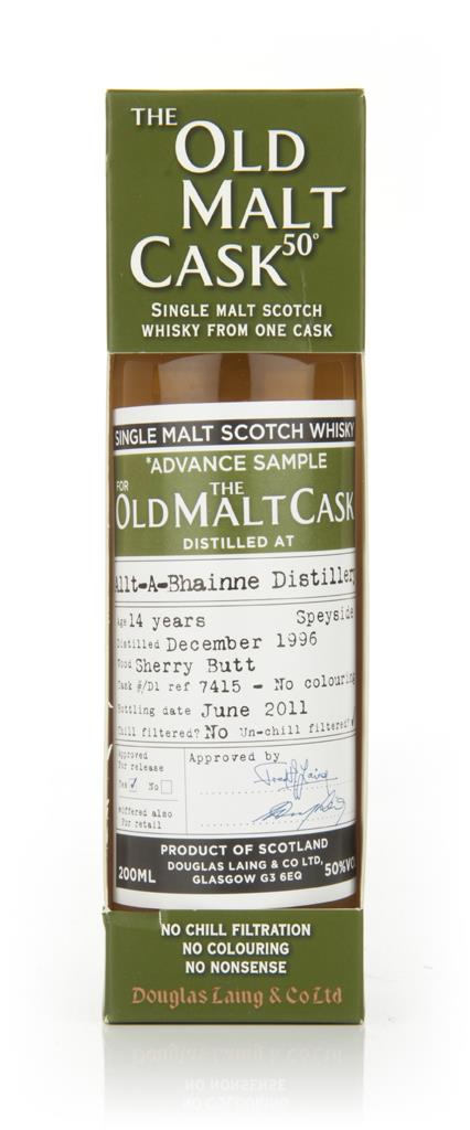 Allt a Bhainne 14 Year Old 1996 - Old Malt Cask (Douglas Laing) Single Malt Whisky