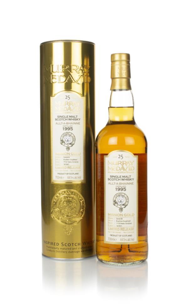 Allt-a-Bhainne 25 Year Old 1995 (cask 187841) - Mission Gold (Murray M Single Malt Whisky
