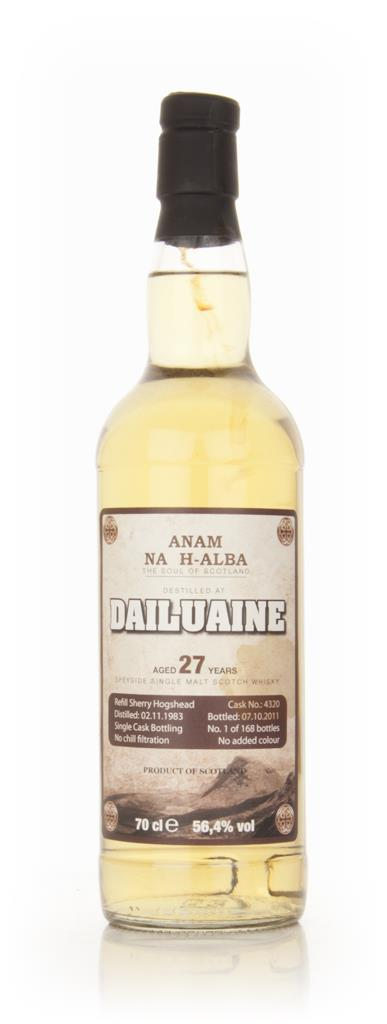 Anam Na H-Alba Dailuaine 27 Year Old 1982 Single Malt Whisky