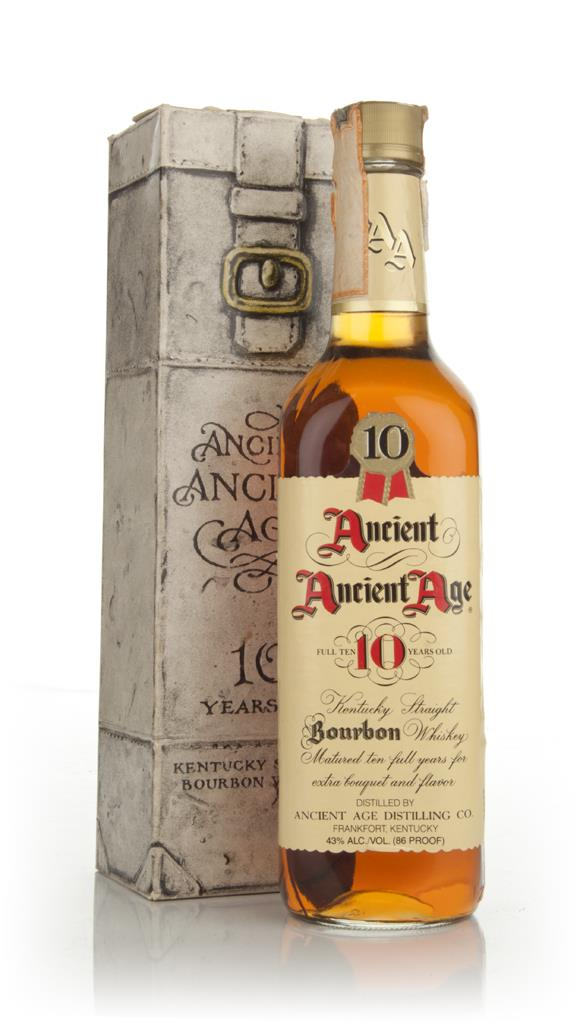 Ancient Age 10 Year Old - 1980s Bourbon Whiskey