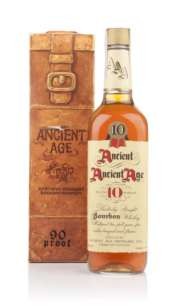Ancient Age 10 Year Old Kentucky Bourbon - 1980s Bourbon Whiskey