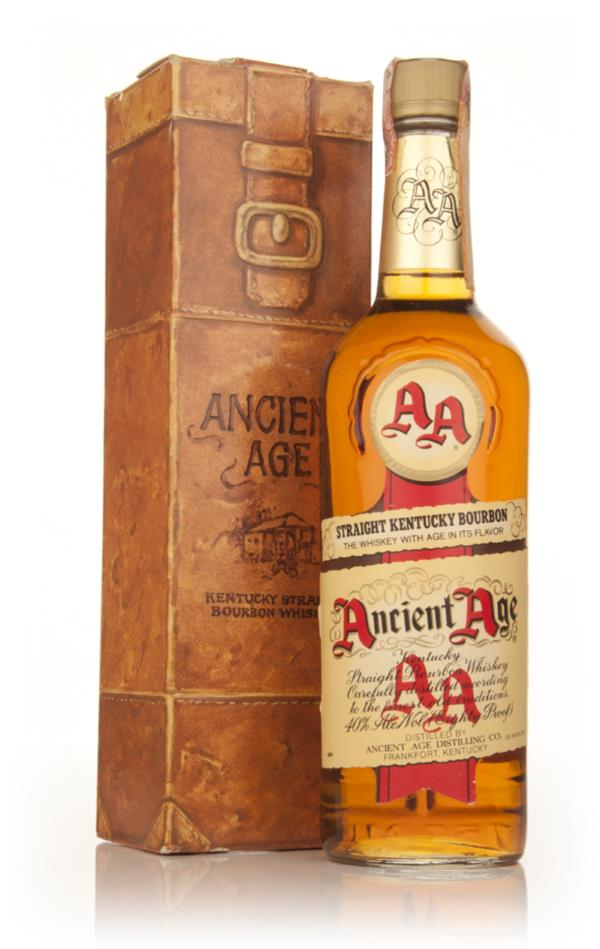 Ancient Age Kentucky Bourbon - 1980s Bourbon Whiskey