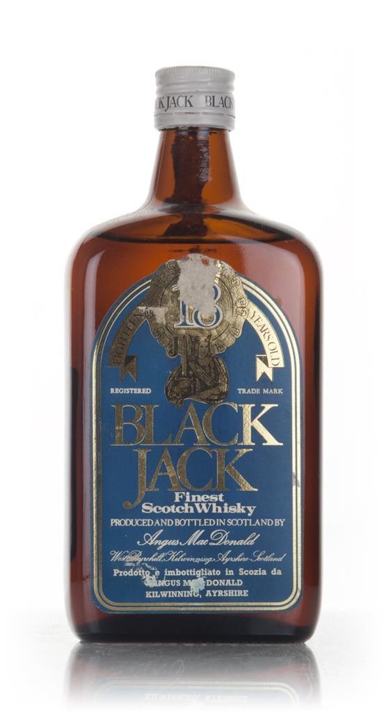 Black Jack 18 Year Old - 1970s Blended Whisky