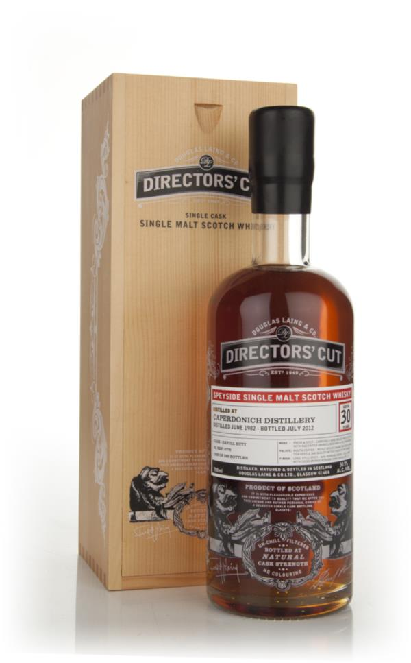 Caperdonich 30 Years Old 1982  - Directors Cut (Douglas Laing) Single Malt Whisky