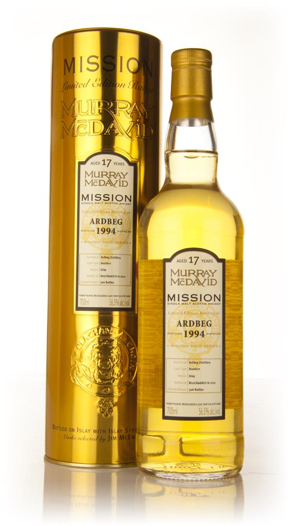 Ardbeg 17 Year Old 1994 - Mission (Murray McDavid) Single Malt Whisky