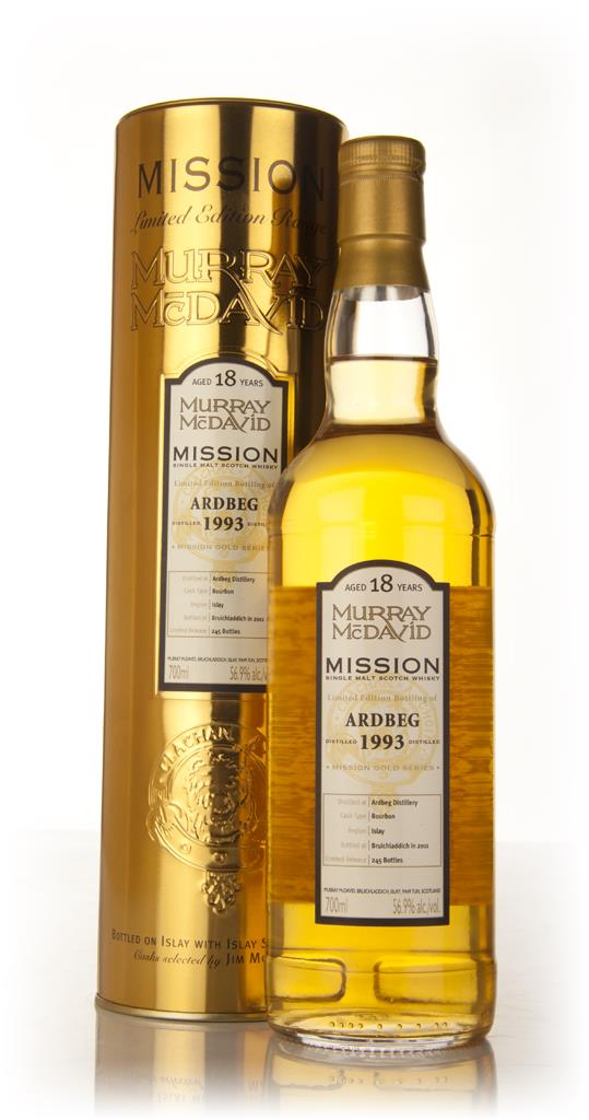 Ardbeg 18 Year Old 1993 - Mission (Murray McDavid) Single Malt Whisky