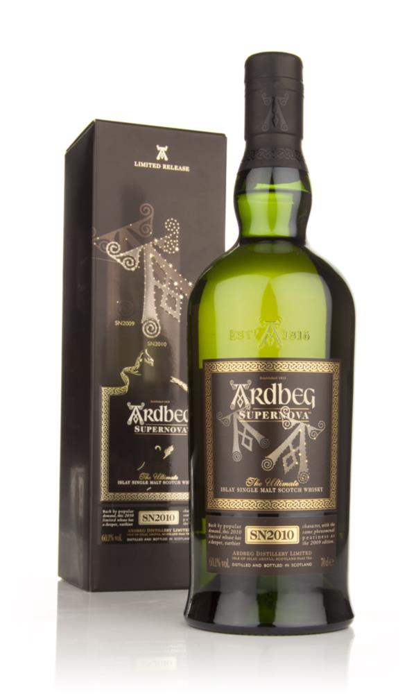 Ardbeg Supernova 2010 (SN2010) 2nd release Single Malt Whisky