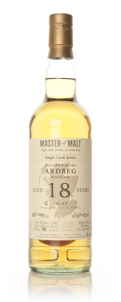 Ardbeg 18 Year Old - Single Cask (Master of Malt) Single Malt Whisky