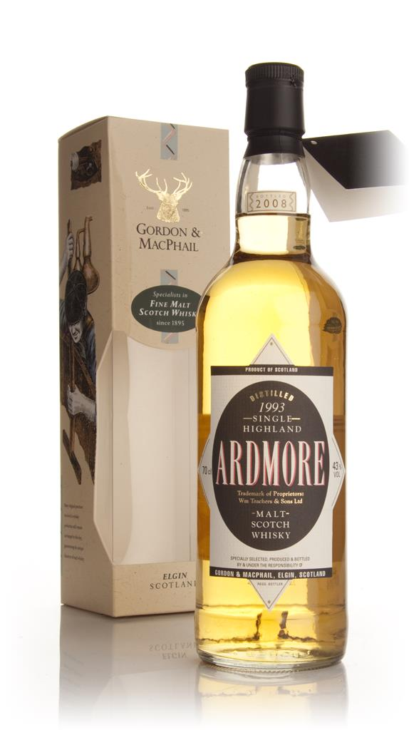 Ardmore 1993 (Gordon and MacPhail) Single Malt Whisky