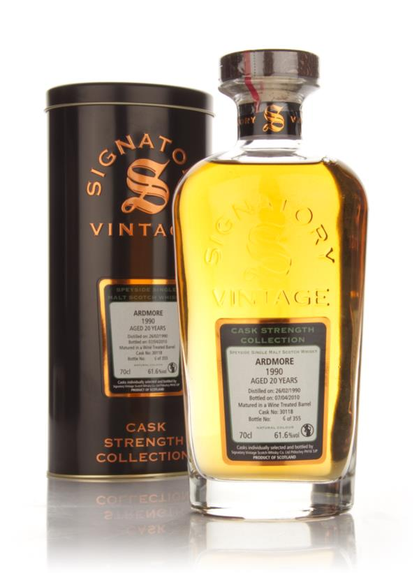 Ardmore 20 Year Old 1990 - Cask Strength Collection (Signatory) Single Malt