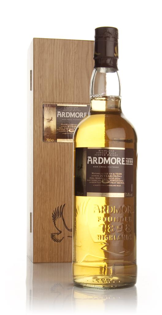Ardmore 25 Year Old Single Malt Whisky
