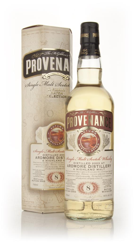 Ardmore 8 Year Old 2003 - Provenance (Douglas Laing) Single Malt Whisky
