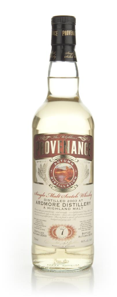 Ardmore 7 Year Old 2003  - Provenance (Douglas Laing) Single Malt Whisky