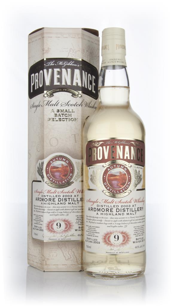 Ardmore 9 Year Old 2003 Cask 9341 - Provenance (Douglas Laing) Single Malt Whisky