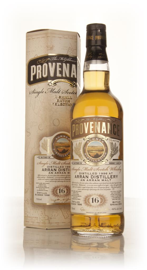Arran 16 Year Old 1996 (cask 9753) - Provenance (Douglas Laing) Single Malt Whisky