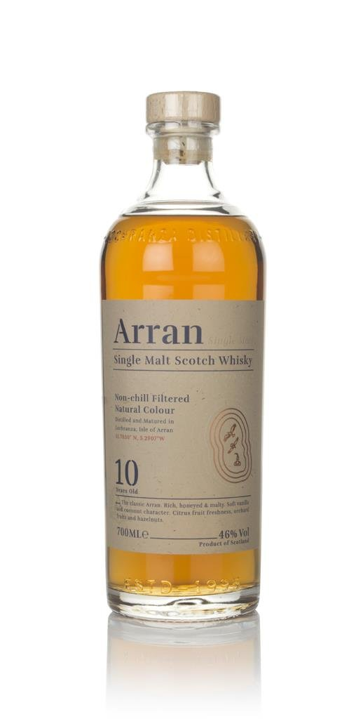 Arran 10 Year Old Single Malt Whisky