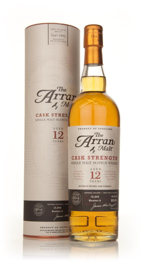 Arran 12 Year Old Cask Strength Batch 2 Single Malt Whisky