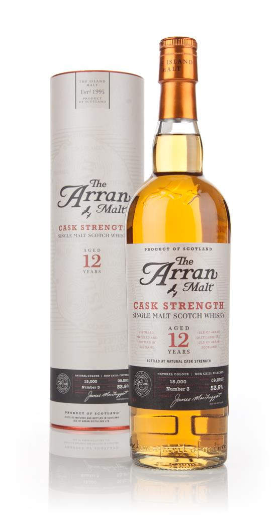 Arran 12 Year Old Cask Strength Batch 3 Single Malt Whisky
