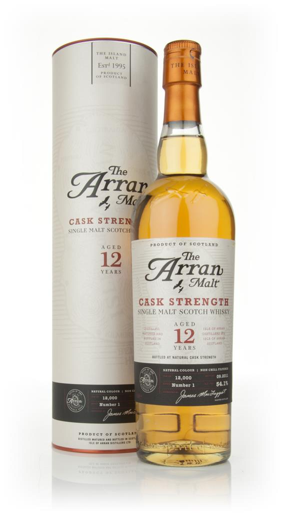 Arran 12 Year Old Cask Strength Single Malt Whisky