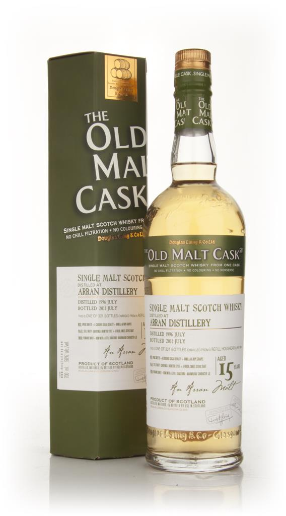 Arran 15 Year Old 1996 - Old Malt Cask (Douglas Laing) Single Malt Whisky