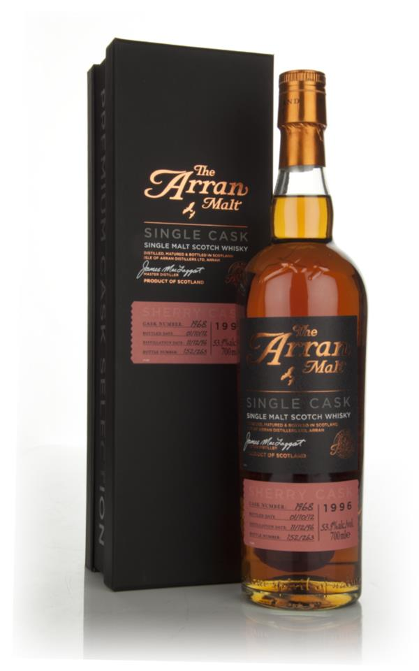 Arran 15 Year Old 1996 - Cask 1968 Single Malt Whisky