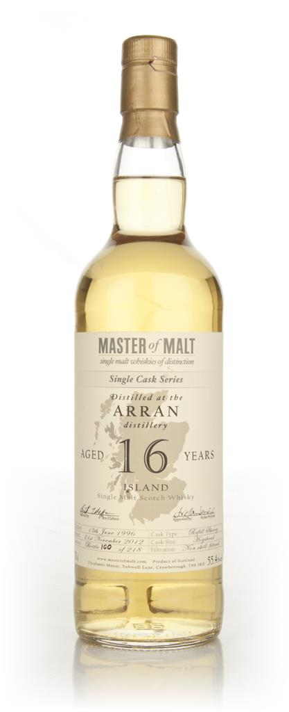 Arran 16 Year Old - Single Cask (Master of Malt) Single Malt Whisky