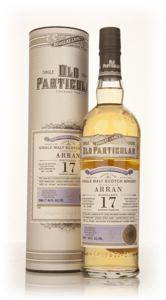 Arran 17 Year Old 1996 (cask 9983) - Old Particular (Douglas Laing) Single Malt Whisky
