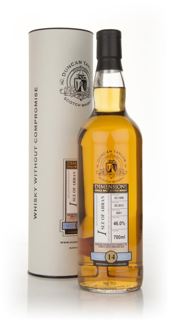 Isle of Arran 14 Year Old 1998 - Dimensions (Duncan Taylor) Single Malt Whisky
