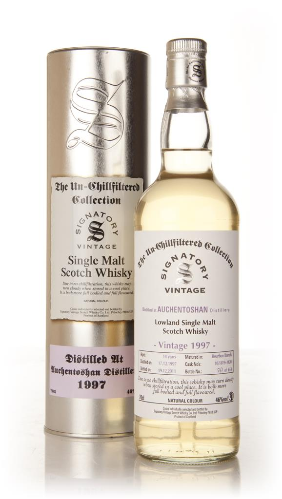Auchentoshan 14 Year Old 1997 - Un-Chillfiltered (Signatory) Single Malt Whisky