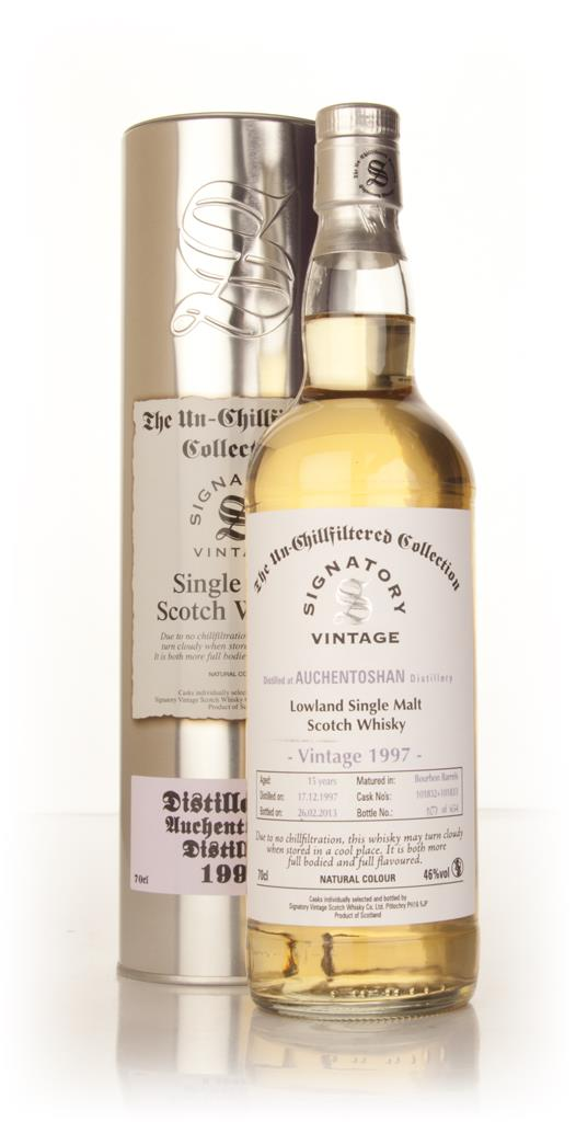 Auchentoshan 15 Year Old 1997 (casks 101832+101833) - Un-Chillfiltered Single Malt Whisky